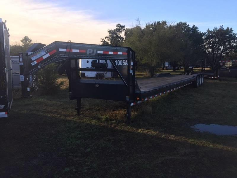 2016 Pj 44' Deck Gooseneck In New Braunfels TX - Trophy Trailers