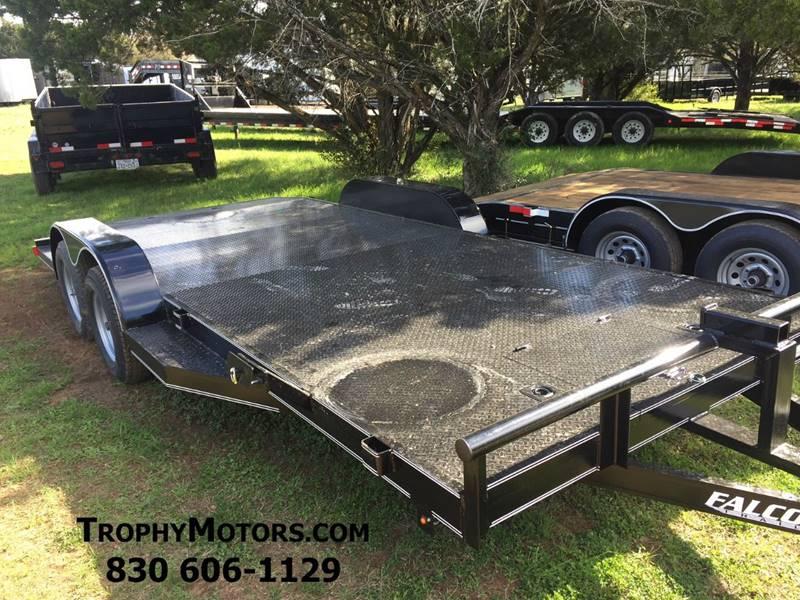 2019 Falcon Trailers 18' Steel Top Car Hauler In New Braunfels TX