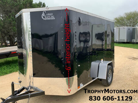 2020 CARGO CRAFT 6X12 RAMP for sale at Trophy Trailers in New Braunfels TX