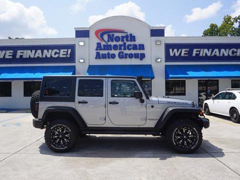 2013 Jeep Wrangler Unlimited for sale in Baton Rouge, LA
