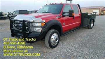 2011 Ford F-550 Chassis for sale in El Reno, OK