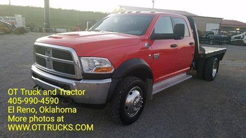2011 Dodge Ram Pickup 5500 for sale in El Reno, OK