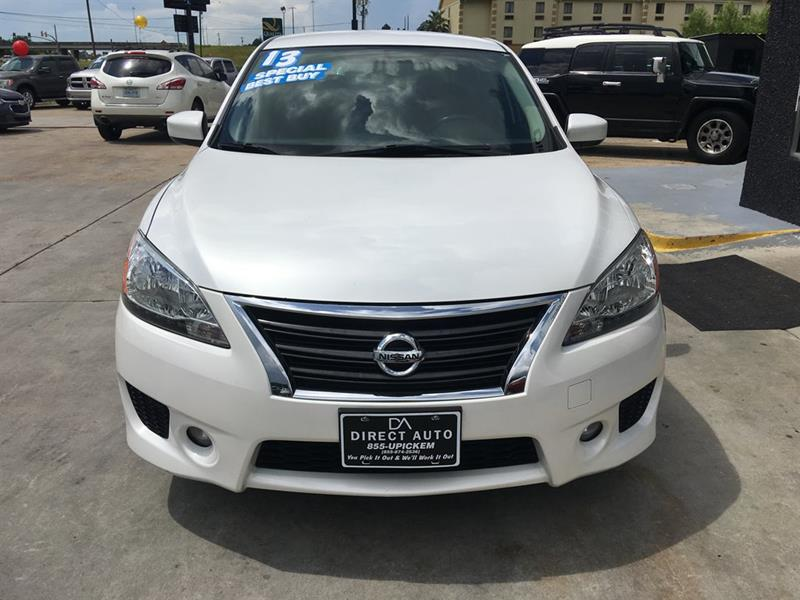 2013 nissan sentra sr 4dr sedan in diberville ms direct auto email for price vanachro Image collections