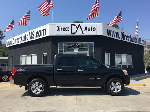2007 Nissan Titan for sale in D'Iberville, MS