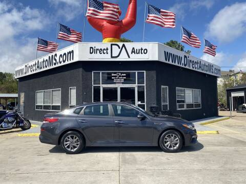 2019 Kia Optima for sale at Direct Auto in D'Iberville MS
