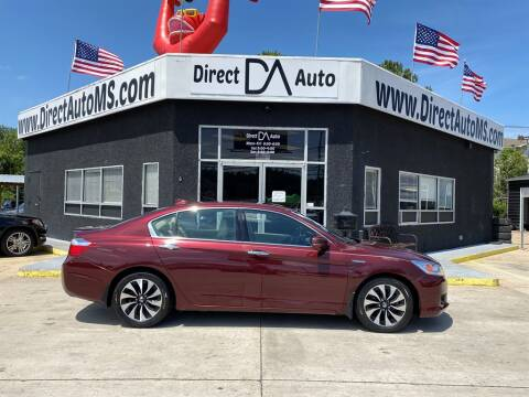 2014 Honda Accord Hybrid for sale at Direct Auto in D'Iberville MS