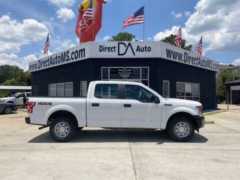2018 Ford F-150 for sale at Direct Auto in D'Iberville MS