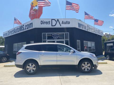 2017 Chevrolet Traverse for sale at Direct Auto in D'Iberville MS