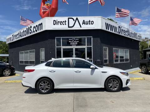 2020 Kia Optima for sale at Direct Auto in D'Iberville MS