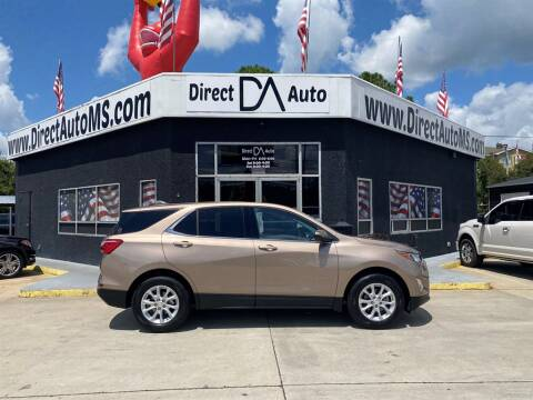 2019 Chevrolet Equinox for sale at Direct Auto in D'Iberville MS