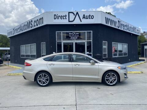2019 Ford Fusion Hybrid for sale at Direct Auto in D'Iberville MS