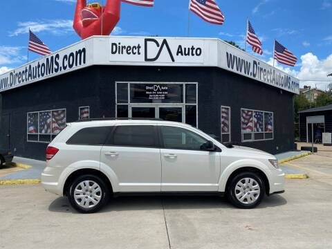 2016 Dodge Journey for sale at Direct Auto in D'Iberville MS