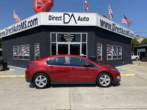 2012 Chevrolet Volt for sale at Direct Auto in D'Iberville MS