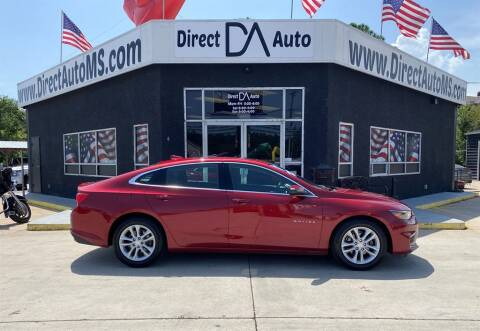2017 Chevrolet Malibu for sale at Direct Auto in D'Iberville MS