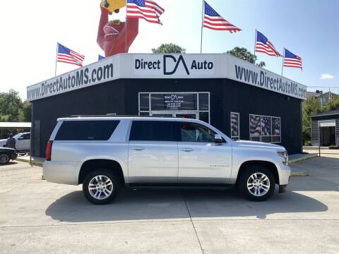 2016 Chevrolet Suburban for sale at Direct Auto in D'Iberville MS