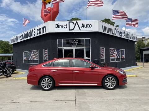2017 Hyundai Sonata for sale at Direct Auto in D'Iberville MS