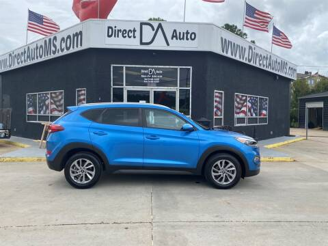 2016 Hyundai Tucson for sale at Direct Auto in D'Iberville MS