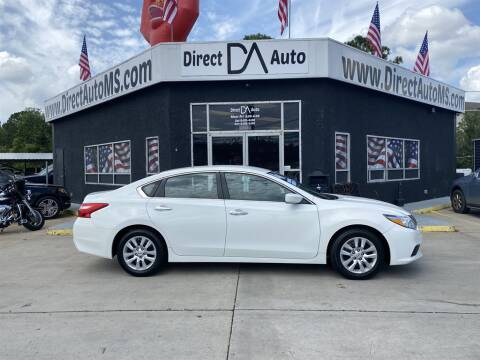 2016 Nissan Altima for sale at Direct Auto in D'Iberville MS
