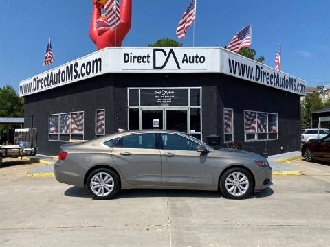 2017 Chevrolet Impala for sale at Direct Auto in D'Iberville MS