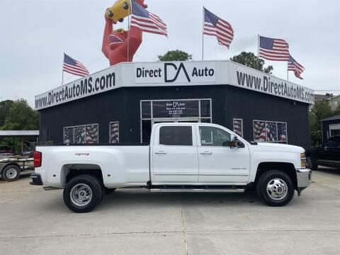 2016 Chevrolet Silverado 3500HD for sale at Direct Auto in D'Iberville MS