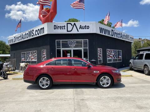 2017 Ford Taurus for sale at Direct Auto in D'Iberville MS