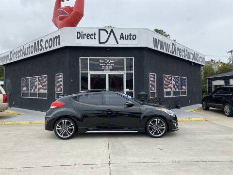 2016 Hyundai Veloster for sale at Direct Auto in D'Iberville MS