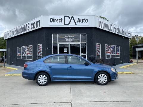 2016 Volkswagen Jetta for sale at Direct Auto in D'Iberville MS