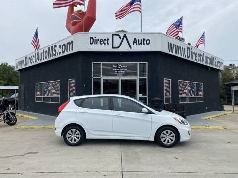 2017 Hyundai Accent for sale at Direct Auto in D'Iberville MS