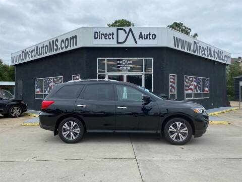 2017 Nissan Pathfinder for sale at Direct Auto in D'Iberville MS