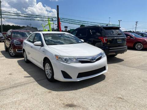 2012 Toyota Camry Hybrid for sale at Direct Auto in D'Iberville MS