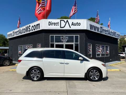 2017 Honda Odyssey for sale at Direct Auto in D'Iberville MS