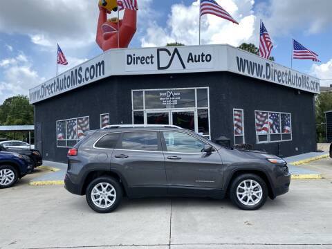 2017 Jeep Cherokee for sale at Direct Auto in D'Iberville MS