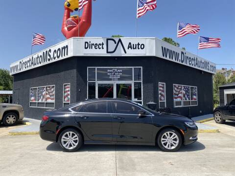 2016 Chrysler 200 for sale at Direct Auto in D'Iberville MS