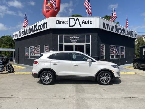 2015 Lincoln MKC for sale at Direct Auto in D'Iberville MS