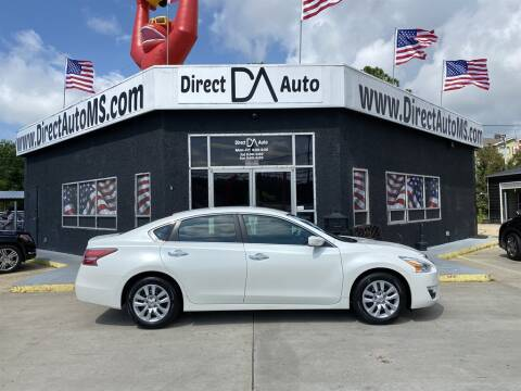 2014 Nissan Altima for sale at Direct Auto in D'Iberville MS