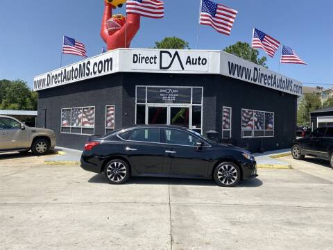 2019 Nissan Sentra for sale at Direct Auto in D'Iberville MS