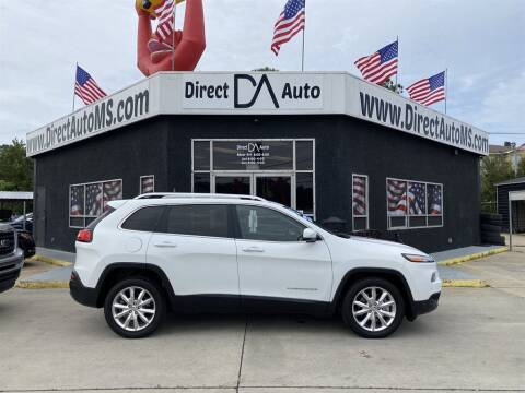 2015 Jeep Cherokee for sale at Direct Auto in D'Iberville MS