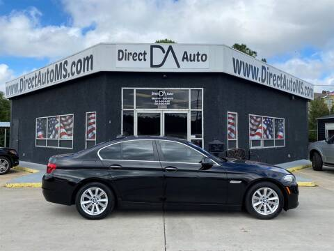 2016 BMW 5 Series for sale at Direct Auto in D'Iberville MS