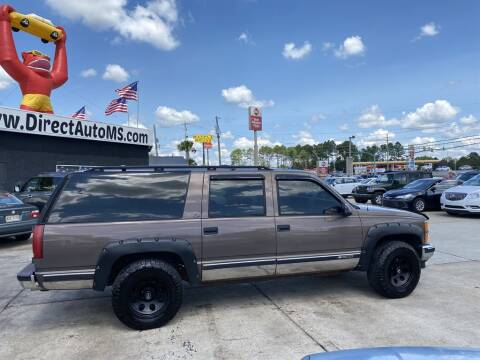 1997 Chevrolet Suburban for sale at Direct Auto in D'Iberville MS