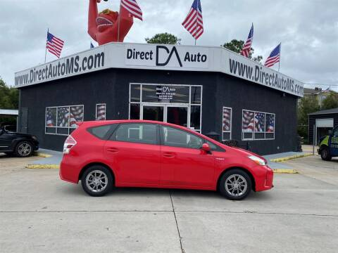 2017 Toyota Prius v for sale at Direct Auto in D'Iberville MS