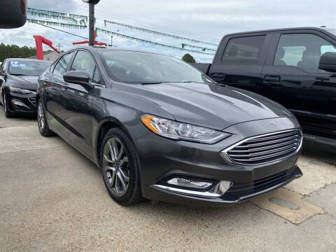 2017 Ford Fusion for sale at Direct Auto in D'Iberville MS