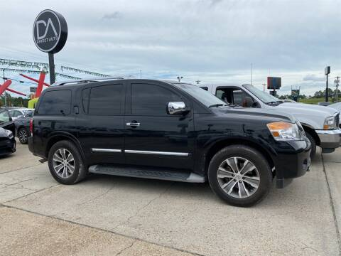 2015 Nissan Armada for sale at Direct Auto in D'Iberville MS