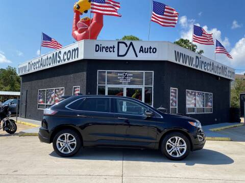 2017 Ford Edge for sale at Direct Auto in D'Iberville MS