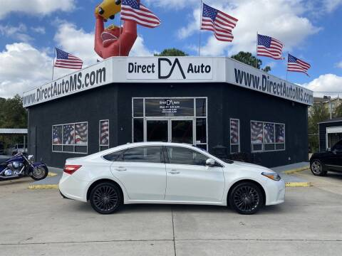 2017 Toyota Avalon for sale at Direct Auto in D'Iberville MS