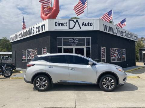 2017 Nissan Murano for sale at Direct Auto in D'Iberville MS