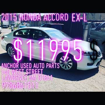 2015 Honda Accord for sale in Lawrence, MA