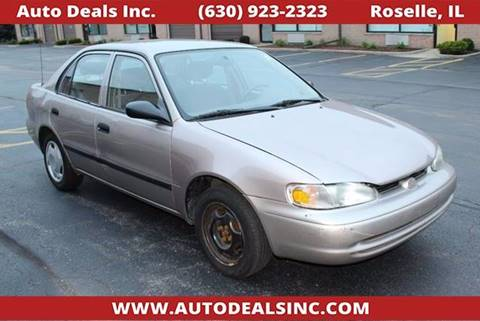 2001 Chevrolet Prizm for sale in Roselle, IL