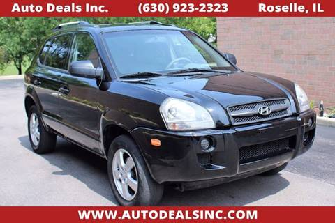 2007 Hyundai Tucson for sale in Roselle, IL