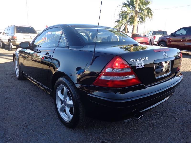 2001 Mercedes-Benz SLK SLK 320 2dr Convertible - El Mirage AZ