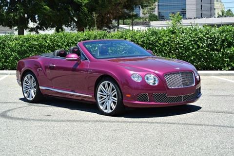 2014 Bentley Continental GT Speed for sale in Van Nuys CA